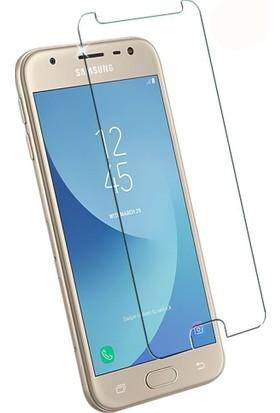 Case 4U Samsung Galaxy J3 Pro 2017 J330 Ekran Koruyucu Temperli Cam