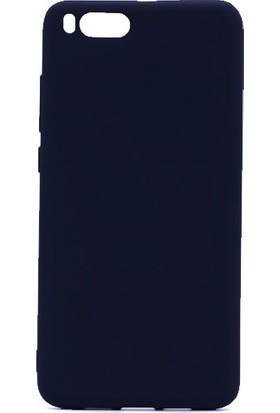 Case 4U Xiaomi Mi Note 3 Kılıf Ultra İnce Mat Silikon Siyah