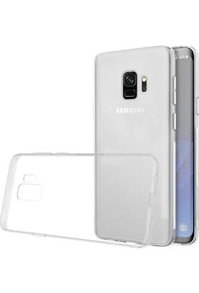 Case 4U Samsung Galaxy S9 Kılıf Ultra İnce Silikon Şeffaf