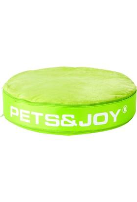 Petsjoy Kedi Yatağı Small Yeşil 60 Cm
