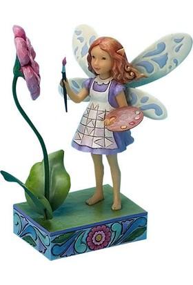 Jim Shore Make something pretty (Artist Fairy)