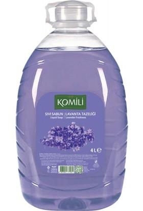 Komili Sıvı Sabun Lavanta 4 x 4 Lt