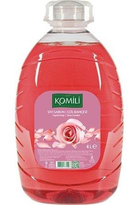 Komili Sıvı Sabun Gül 4 x 4 Lt
