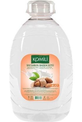 Komili Sıvı Sabun Badem Sütü 4 x 4 Lt