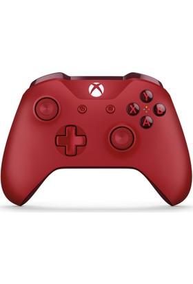 Xbox One Wireless Oyun Kumandası Kırmızı Microsoft Türkiye Garantili