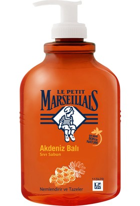Le Petit Marseillais Sıvı Sabun Akdeniz Balı 500 ml