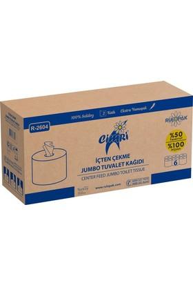 Rulopak Cimri İçten Çekmeli Tuvalet Kağıdı R-2604 S
