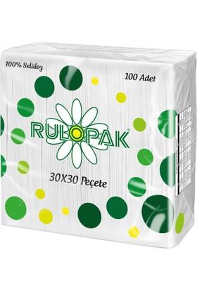 Rulopak Süper Peçete 30 x 30 100 Yaprak