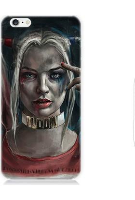 Teknomeg Apple iPhone 6 Harley Quinn Desenli Silikon Kılıf