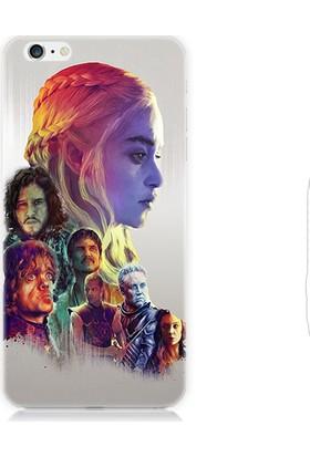 Teknomeg Apple iPhone 6S Plus Game Of Thrones Desenli Silikon Kılıf
