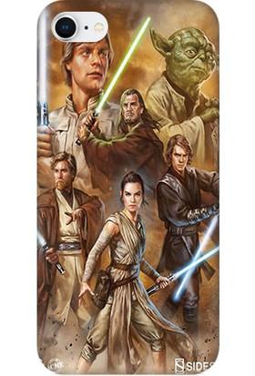 Teknomeg Apple iPhone 8 Star Wars Jedi Desenli Silikon Kılıf