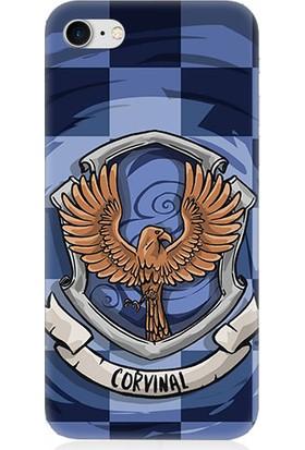 Teknomeg Apple iPhone 7 Harry Poter Ravenclaw Desenli Silikon Kılıf