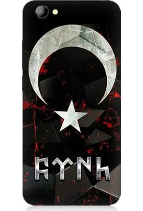 Teknomeg Vestel Venüs E3 Bayrak Ve Türk Desenli Silikon Kılıf