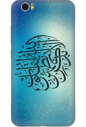 Teknomeg Vestel Venüs Z10 Arapça Hat Sanatı Desenli Silikon Kılıf