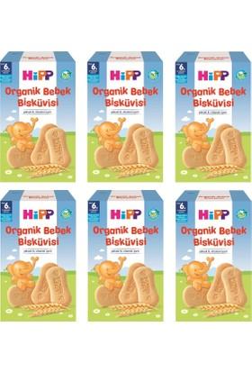 Hipp Organik Bebek Bisküvisi 150 gr 6 Adet