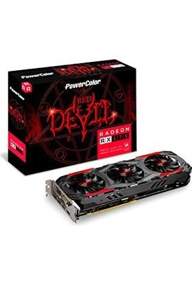 PowerColor AXRX 570 4GBD5-3DH/OC Red Devil RX570 256bit GDDR5 4GB Ekran Kartı (İthalatçı Firma Garantili)
