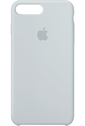 Apple iPhone 8 - iPhone 7 Plus Silikon Kılıf Sis Mavisi MQ5C2ZM/A (Apple Türkiye Garantili)