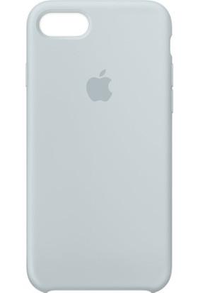 Apple iPhone 8 - iPhone7 Silikon Kılıf Sis Mavisi MQ582ZM/A (Apple Türkiye Garantili)