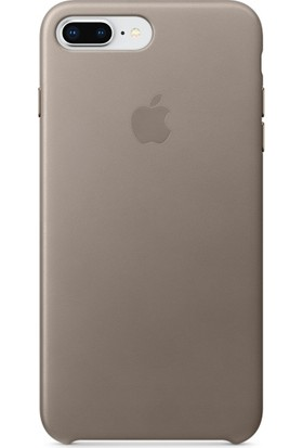 Apple iPhone 8 Plus / 7 Plus Deri Kılıf - Vizon Grisi MQHJ2ZM/A (Apple Türkiye Garantili)