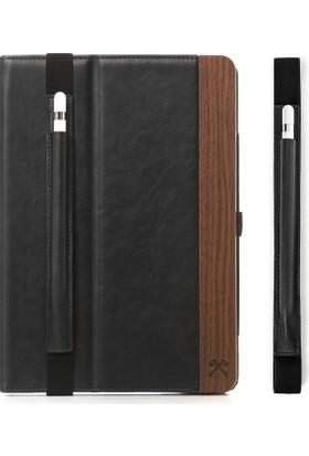 Woodcessories EcoWallet iPad Pro 9.7'' El Yapımı Gerçek Ağaç / Deri Business Tablet Kılıfı