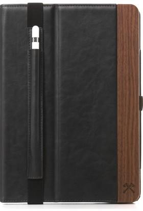 Woodcessories EcoWallet iPad Pro 10.5'' El Yapımı Gerçek Ağaç / Deri Business Tablet Kılıfı