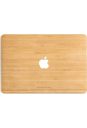 "Woodcessories Macbook 13"" Air & Pro EcoSkin El Yapımı Gerçek Ağaç Cover"
