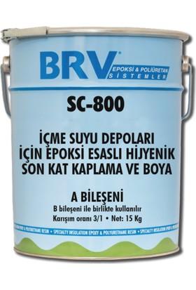 Brv Seal Sc-800 - İçme Suyu Depoları İçin Solventsiz, Hijyenik Son Kat, Epoksi Kaplama Ve Boya