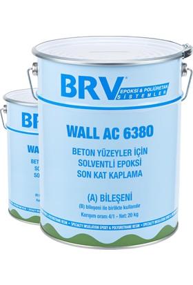 Brv Wall Ac-6380 - Beton Yüzeyler İçin Solventli, Epoksi Son Kat Boya