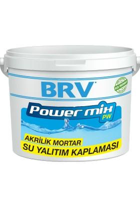 Brv Powermıx Pw - Su Bazlı Akrilik Mortar Su Yalıtım Kaplaması