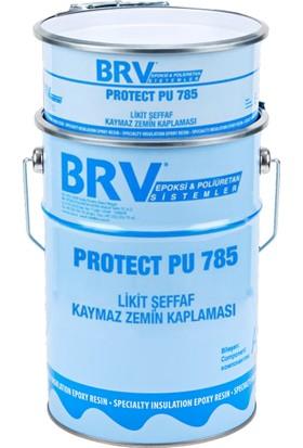 Brv Protect Pu-785 - Likit Şeffaf, Kaymaz Zemin Ve Su Yalıtım Kaplaması
