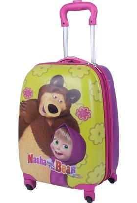 Hakan Çanta Masha The Bear Lisanslı Çocuk Valiz Hkn87949