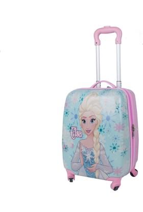 Hakan Çanta Frozen Elsa Lisanslı Çocuk Valiz Hkn89139