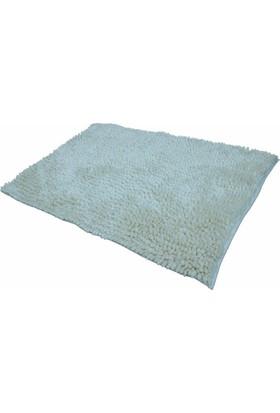 Şönil Mikrofiber Ecru Banyo Paspası 70x120 Cm