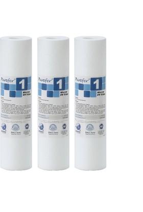 Global Water Solutions Kum ve Tortu Filtresi / 1 mikron (3 Adet)