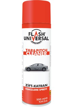 Flash Universal Zift Katran Temizleme Spreyi 500ml