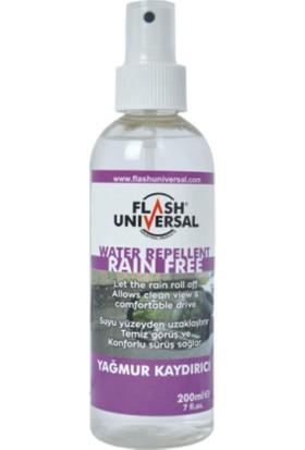 Flash Universal Yağmur Kaydırıcı Sprey 200ML.