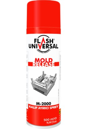 Flash Universal Kalıp Ayırıcı M-2000 Sprey 500ml