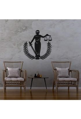 Dekoragel Adalet Sembolü I Metal Duvar Tablosu