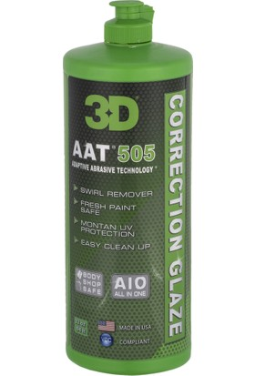 HD 3D 505 Aat Correction Glaze Pasta Cila 1lt.