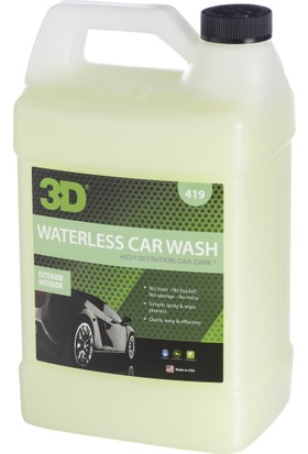 HD 3D Waterless Car Wash Susuz Yıkama 3.79lt