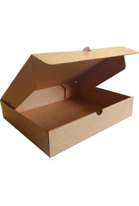 Kolievi Kolievi Kapaklı Kutu (10 Adet) 25x20x5cm