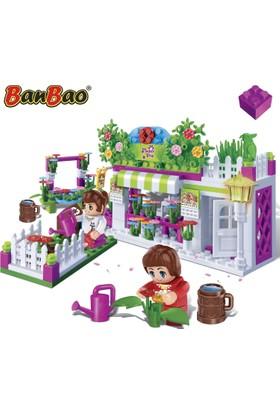 Banbao Şehir Serisi- Çiçek Dükkanı 252 Parça