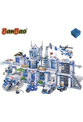 Banbao Büyük Polis Seti 1285 Parça