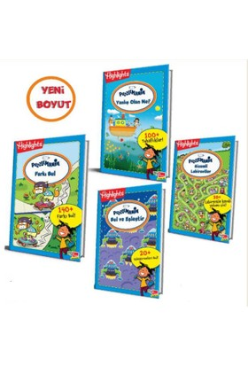 Highlights Puzzlemania (On The Go Serisi) 4'lü Set
