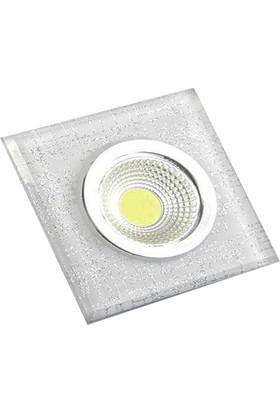 Odalight Dekoratif 5W Cob Led Armatür Bulut Beyaz Işık