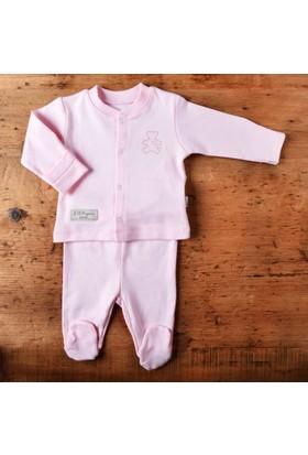 KitiKate Organik Bebe Pijama Takımı Pembe