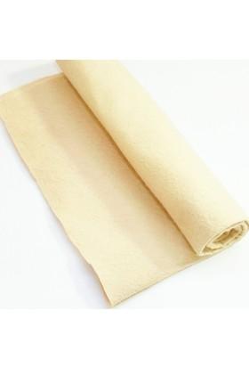 İnce Keçe Kumaş -Hobi Malzemesi 1mm (50 x 50 cm) Bej