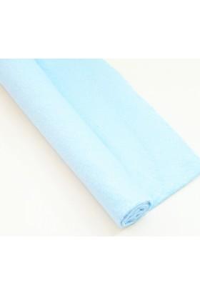 İnce Keçe Kumaş -Hobi Malzemesi 1mm (50 x 50 cm) Açık Mavi
