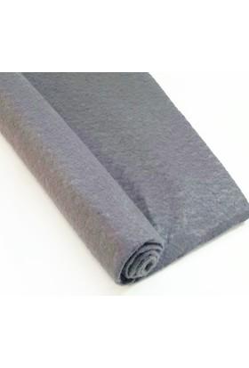 İnce Keçe Kumaş -Hobi Malzemesi 1mm (50 x 50 cm) Koyu Gri
