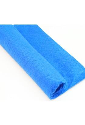 İnce Keçe Kumaş -Hobi Malzemesi 1mm (50 x 50 cm) Saks Mavi